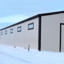 Новое здание полуавтоматических линий наружной и внутренней механической очистки